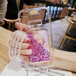 Iphone 6s Light Up Phone Case NZ - Luxury Bling Stars Dynamic Liquid Quicksand Clear Phone Case For iPhone x 6 S 7 8 6S 7 Plus 5 5S SE Led Flash Light Up Girl Cover