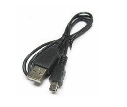 Car hdd online shopping - Mini USB Cable Mini USB Fast Data Charger Cable for MP3 MP4 Player V3 T mouth type Car DVR GPS Digital Camera HDD Mini USB