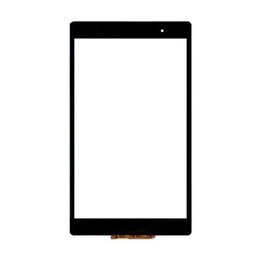 "z3 compact touch screen UK - 20PCS (Tested) For Sony Xperia Z3 Tablet Compact Touch Screen Digitizer LCD Outer Panel 8.0"" Front Glass Sensor DHL Free"