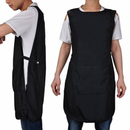 China Super Quality Salon Hairdressing Hair Cutting Apron Front-Back Cape for Barber Hairstylist Styling Cloth free shipping cheap front hair cutting style suppliers