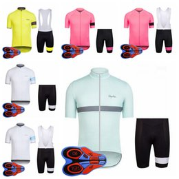 Rapha team Cycling Jerseys Short Sleeves Summer Cycling bib shorts bicycle  Clothes Bike Wear Comfortable Breathable New Rapha Jerseys F2811 0a5bbb112