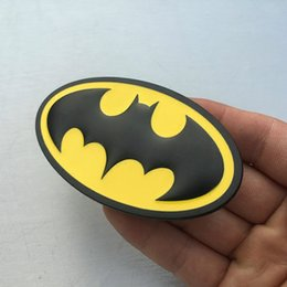 Discount batman car window - Car-styling car personality Batman car emblem badges modified body stickers car tail logo metal tail mark obscuration sc