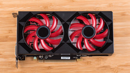 Le moins cher !!! Cartes graphiques Bitcoin Miner NOIR ET ROUGE BTC exploitation minière GPU RX560D 4G 128bit GDDR5 Carte graphique ETH 13.5M DHL LIVRAISON
