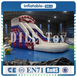Pool inflatable water slides online shopping - To Door m m Inflatable Water Slide Inflatable Pool Slide Inflatable Weter Slide For Summer