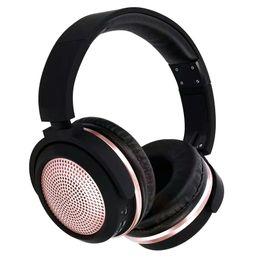 Wireless Headphone Tv Canada - NVAHVA Bluetooth Headphone HIFI Bluetooth Headset with 3.5mm AUX Cable Bass Wireless Headphones For Phones PC TV Pod