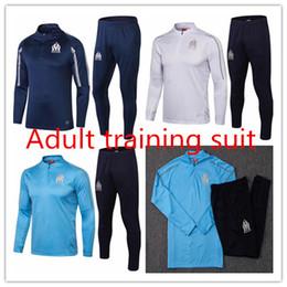 $enCountryForm.capitalKeyWord UK - Marseille 2018 season jersey sportswear long sleeves training suits THAUVIN L.GUSTAVO 18 19 football team uniforms club team custom sales
