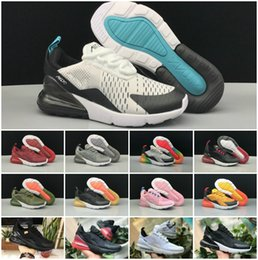Off bOy online shopping - 2018 Air Kids Shoes Sports Running Infant S boys girls Off Black White Red Blue Designer Sneakers Run plus TN Chaussures Maxes