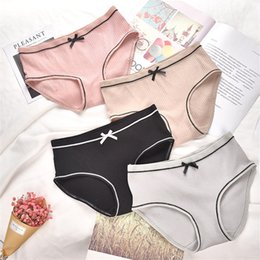c26667d2c1 Japanese Style Underwear Australia - Japanese thread princess lady cute  sweet underwear Breathable mid waist sexy