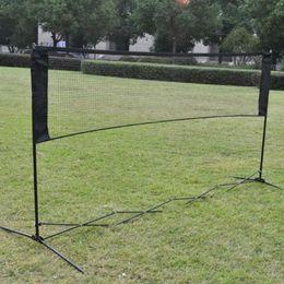Wholesale Professional Training Square Mesh Standard Badminton Net Sports Net for Outdoor Badminton Tennis Net Replacement