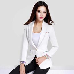 Blue Black Casual Women Blazer Suit Buttons Plus Size Elegant Womens Blazers  And Jackets Slim Korean Ladies Office Wear X50039 74ac5f90a609