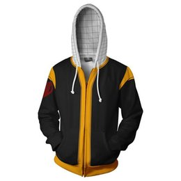 Chinese  2018 New Fashion men FAIRY TAIL sweatshirt Hoodies Streetwear Cosplay Hoody Zipper hooded Jacket clothing manufacturers