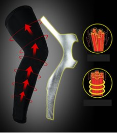 Wholesale Compression Gear NZ - Professional Sports Knee Compression Elastic Protect Sets Outdoor Basketball Football Riding Gear Custom Support FBA Drop Shipping H399F