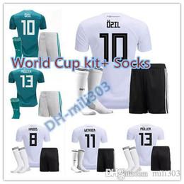 77334130f 2018 2019 MULLER KROOS Draxler Werner Trikot Soccer Jerseys 18 19 soccer  Shirt OZIL GOTZE REUS HUMMELS Germany Football shirt Uniform
