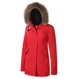 $enCountryForm.capitalKeyWord UK - 2019 Hot new classic version of the trademark Heavy hair long money brought down jacket in outdoor skiing down jacket women overcoat XS-XXL