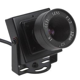 Миниая камера CCTV цвета обеспеченностью CMOS HD 600TVL 1/3 Тональнозвуковая видео-с объективом CCT_534 12mm