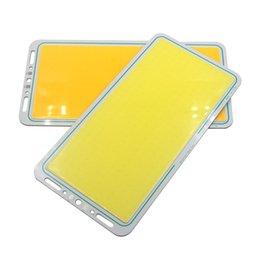 220 * 112 mm 50 W COB Flip Chip a bordo de la luz 12V DC DIY coche al aire libre que acampa de la lámpara de la lámpara con mando a distancia LED