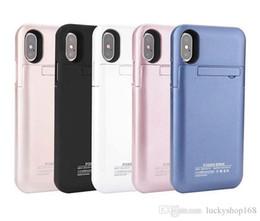 Для iphone X внешний аккумулятор резервного питания Банка зарядное устройство чехол Powerbank чехол для iPhone 7 8 Plus 4.7