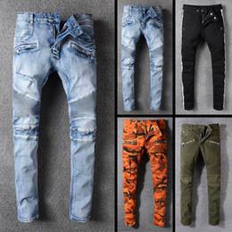 Cool korean Clothing online shopping - 2018 Fashion kpop skinny ripped korean hip hop fashion pants cool mens urban clothing jumpsuit men s jeans