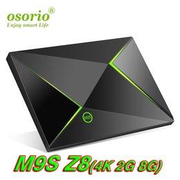 $enCountryForm.capitalKeyWord NZ - Quad Core Mini PC Amlogic S905X TV Box Android 6.0 4K 2GB 8GB Bluetooth 5G Streaming Media Player M9S Z8 support 2.4GHz 5.0GHz WiFi BT 4.0