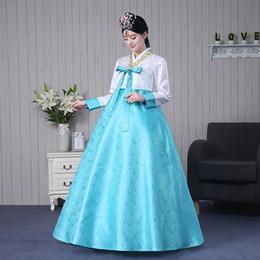 2018 estate donne vintage retrò kimono giapponese yukata coreano  tradizionale abito hanbok abbigliamento vestito coreano 195495d4d645