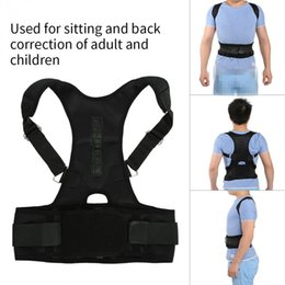 952c073c53e13 Magnetic Therapy Adult Spine Support Belt Back Shoulder Waist Corrector  Pain Relief Posture Correction Brace Corset Shapers