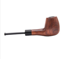 $enCountryForm.capitalKeyWord UK - Boutique mahogany, smooth pipe, flannelette, bucket packing, curved, old-fashioned, convenient filter cigarette holder.