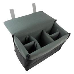 Dslr Cameras Bags Australia - Padded Protective Bag Insert Liner Case for DSLR Camera, Lens and Accessories Black
