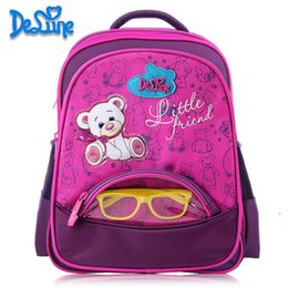 $enCountryForm.capitalKeyWord Canada - Girls School Bags Orthopedic Princess Schoolbags Children Backpack boys Cartoon Bear Car Primary bag Kids Mochila Infantil