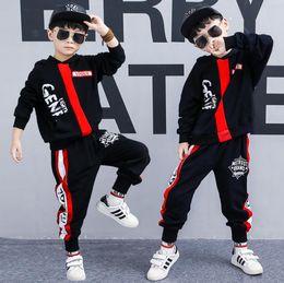c120d9ad8 Boys  autumn dress 2018 new Korean Edition Set autumn children s fashion  sweater two pieces.