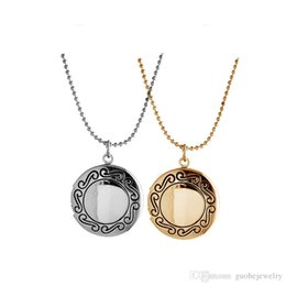 $enCountryForm.capitalKeyWord Australia - New arrival locket necklaces Personalized fashion round frame pendant necklace Floating Locket Charms necklace free shipping