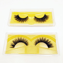 $enCountryForm.capitalKeyWord Australia - 3D Mink False Eyelashes Full Strip Thick Fake Faux Top Lashes Extensions Makeup Beauty 100% Handmade Can Customize Private Label or logo