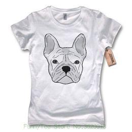 $enCountryForm.capitalKeyWord NZ - Women's Tee Ladies T-shirt - French Bulldog - French Bulldog Cotton White S M L Xl European Style Hip Hop S-xl