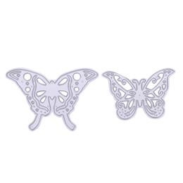 $enCountryForm.capitalKeyWord UK - 2pcs set Cutting Dies Butterfly Metal Cutting Dies Stencils for DIY Cutting Dies Die Cut Stencil Scrapbooking Decorative Craft