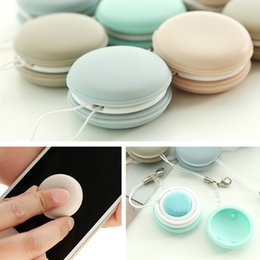 Wholesale LNRRABC Fashion PC New Hot Sale Kawaii Jumbo Key Pendant Cell Phone Screen Glasses Clean Mobile Phone Accessories Key Chains