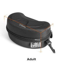 Equipment Case Waterproof Australia - Mounchain Protection Ski Eyewear Case Large Snow Skiing Goggles Box Shockproof Waterproof Snowboard Bag skiing equipment