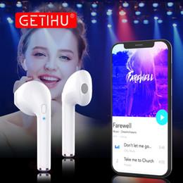Discount samsung ear buds - GETIHU Mini Twins Bluetooth Sport Earphones Stereo headphones in Ear Buds wireless Earbuds handsfree Headset For iPhone