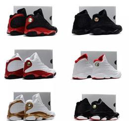 24a78e63fdfa Infant Black Boy   girl 13s Bred History of Flight Kids basketball shoes  HOF children athletic sports boy girl sneakers size 28-35