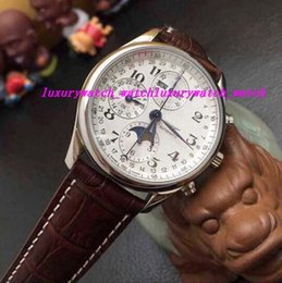 Mechanical Moonphase online shopping - Luxury Watch New Brown Leather Bracelet Collection Moonphase Men s Watch L2 Automatic Men s Watch