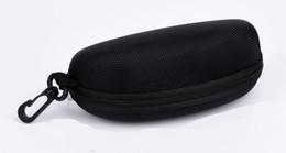 $enCountryForm.capitalKeyWord Canada - A++hard case Zipper Hook Sunglasses Box Compression Glasses Case Black Metal Plastic Sports sun glasses case box free shipping