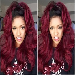 Red Wine Burgundy Brazilian Virgin Hair Australia - Burgundy Brazilian Virgin Hair Weaves Bundles Wine Red 99J Brazilian Virgin Hair Body Wave 3Pcs Tangle Free Remy Human Hair Extensions Weft