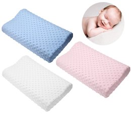 foam cervical pillow Canada - Hot Memory Foam Pillow 3 Colors Orthopedic Pillow Latex Neck Fiber Slow Rebound Soft Massager Cervical Health Care 17