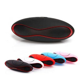 Audio Disks Australia - Mini X6 Bluetooth Speaker Portable Wireless Stereo Speakers Handsfree for Audio MP3 Player Subwoofer with U Disk TF Card with Retail Package