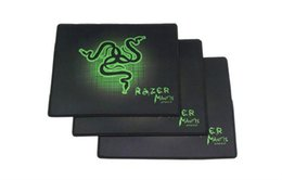 goliathus razer speed mouse pad UK - PC Mouse Mat Pad Razer Two sizes Goliathus Locking Edge Gaming Speed Version Mousepad For Lol CS Dota2