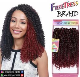 Black Hair Braids Hairstyles Australia - SAVANA 3pcs lot free shipping jerry deep curly hairstyles for black women african crochet braiding hair weaves jamaican bounce crochet hair