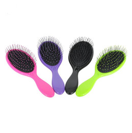 Hair Brushing NZ - Durable Hair Brush Detangler Massage Comb With Airbags Combs For Hair Shower Brush 5 Colors Optional LX1152