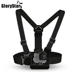 Wholesale Chest Strap mount belt for Gopro hero 5 4 Xiaomi yi 4K Action camera Chest Mount Harness for Go Pro SJCAM SJ4000 sport cam fix dji osmo
