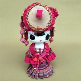 China Handmade jewelry, Home Furnishing cartoon national doll shop decoration, creative design, cartoon gift suppliers
