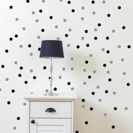 $enCountryForm.capitalKeyWord NZ - polka dot wall stickers 120PCS removable tiny polka dots wall sticker for kitchen refrigerator bathroom decor drop ship