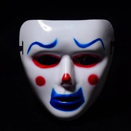 Hanzi_masks 1Pc Cool PVC Kamen Rider Ghost Dance Hip Hop Máscara Blanca Noche Luces Máscara para Home Bar Discoteca Party Props Suministros