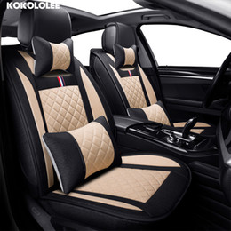 Discount accessories for rav4 - car seat cover for toyota volkswagen RAV4 skoda rapid Lexus ES IS LS RX NX LX Prado Kia auto accessory car-styling